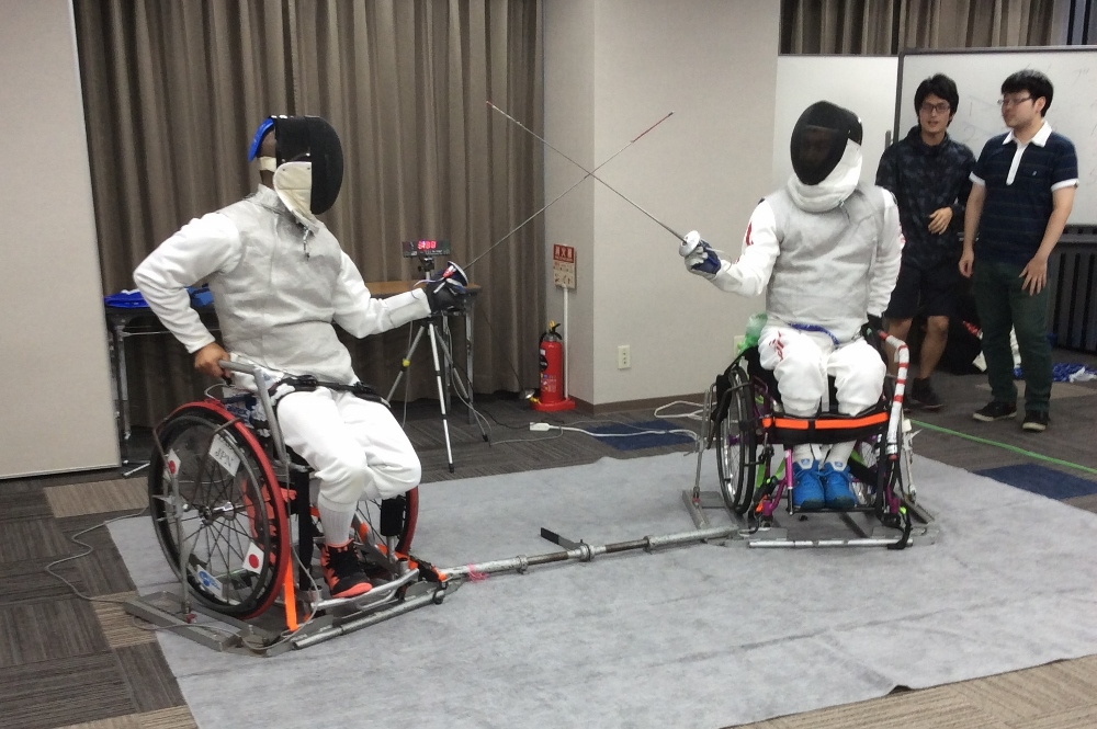 Japan Wheelchair Fencing Compe...